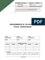 PG SOG-002 Capacitación