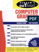 Schaum's Outline Computer Graphics