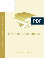 Fortbildningshandboken Nr 1 i Serien Proffessions-och Skolutveckling