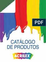 Catalogo de Produtos Acrilex 2014