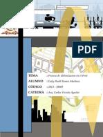 Monografia Procesos de Urbanizacion en El Perú