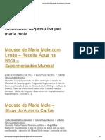 Maria Mole _ Resultados Da Pesquisa _ Receitas
