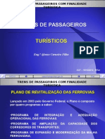 Trens de Passageiros Turisticos