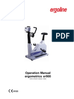 Operating Manual Ergometrics ER 900 (English)