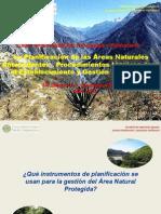 Tema VI. Instrumentos de Planficacion en ANP