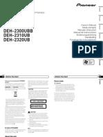 Deh-2300ub Manual en Fr It Es de Nl Rupdf