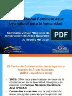 """Seminario Virtual """"Negocios de carbono y conservación de Áreas Naturales Protegidas"""" 22 de Julio del 2015"""