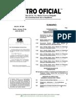 Acuerdo Ministerial 141 Sobre Reglamentos y Comités de Seguridad