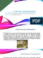 Literatura Del Modernismo9