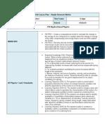Simple Harmonic Motion Unit Plan 2014-03-26