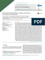 Fabricating Electrospun Cellulose Nanofibre Adsorbents for Ion-exchange Chromatography
