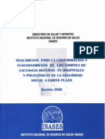REGLAMENTO PARA LA CONFORMACION DE COMITES LACTANCIA MATERNA.pdf