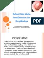 Referat Otitis Media