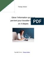 Gerer Info Temps Action