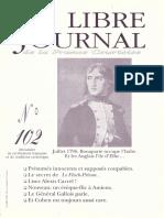 Libre Journal de la France Courtoise N°102