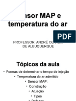 Sensor Map e de temperatura do ar