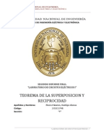 Teorema de Superposicion y Reciprocidad.Informe Final 2