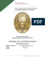 Teorema de Superposicion y Reciprocidad.Informe Final 2