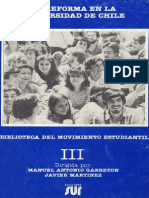 La Reforma en La U de Chile