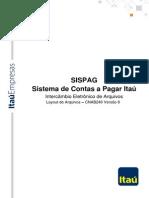 sispag_cnab itaú