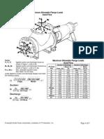 Nozzle Loads Model AF- ITT Circulation Pump
