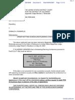Bourgeois v. Runsfeld - Document No. 3