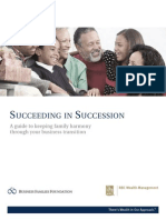 Succeeding in Succession