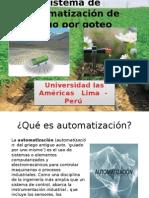Sistema de Automatizacion de Riego