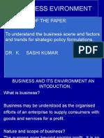 Business Evironment