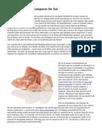 Beneficios De Las Lamparas De Sal