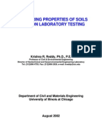 Engineering properties of soils based on laboratory testing - Krishna R. Reddy, Ph.D., P.E.