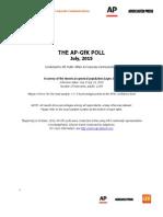 AP-GfK Poll July 2015-Topline Cuba1