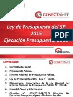 5 Ley Presupuesto 2015 y Directiva_Ejecución