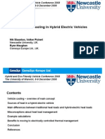 Controlled Cooling in Hybrid Electric Vehicles
