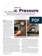 Introduction to static pressure