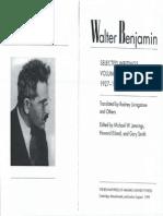 Walter Benjamin-Selected Writings