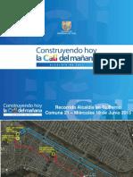 Recorrido Comuna 21 - 04 Junio 2015 Preliminar