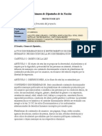 Proyecto de Ley (Fpv) - Promoción de La No Discriminación en Internet