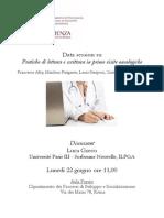 Data Session Lettura e Scrittura in Visite Oncologiche