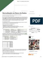 Blog Da TI » Normalização Em Banco de Dados