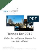 Tendencias de Video Vigilancia