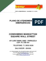 Wall Street - Plano de Atendimento a Emergências - p.a.e. - 2014 - 2015