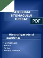 2.Patologia Stomacului Operat