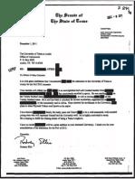 Rodney Ellis Kroll Letter