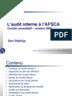 2007 10 24 RC Punt9 Interne Audit Fr