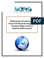 mathematics-framework