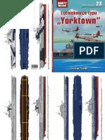 """Jarosław Palasek - Lotniskowce typu """"Yorktown"""" cz. 1  - Okręty Wojenne 23 numer specjalny"""