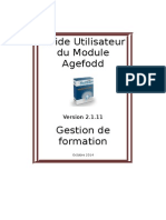 Manuel Utilisation - Agefodd- FR