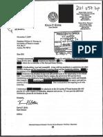 Kevin Eltife Kroll Letter