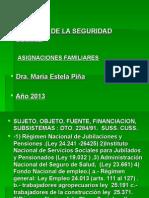 Asignaciones Familiares 2013